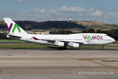 EC-KXN (Airlinerphotos.de) Tags: b747400 mad wamosair