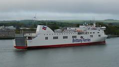 18 05 07 BF Connemara  1st arrival  (18) (pghcork) Tags: corkharbour cork ferry carferry connemara brittanyferries ireland 2018