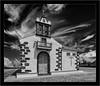 Ermita de Nuestra Señora de La Concepción, La Palma (Dierk Topp) Tags: bw canontse24mm35ii himmel ir sonya7rir canaryislands clouds infrared islascanarias lapalma monochrom sw sony wolken architecture churches