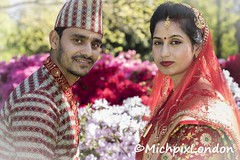 IMG_6508BridgeWV (@MichpixLondon) Tags: nepal nepalese costume national dress wedding weddingdress asian man husband wife woman couple love romance bexley hallplace park tree trees plant plants flower flowers tradition