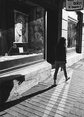 scary shadow (berberbeard) Tags: deutschland urban blackandwhite street monochrom ilce7m2 germany berberbeard schwarzweiss sony hannover linden