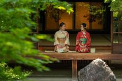 Kyoto-kimono-3 (rwscholte) Tags: people kyoto k1 japan kimono temple pentax availablelight