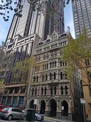 Melbourne Safe Deposit Building, 90 Queen Street, Melbourne city in May 2018, Victoria, Australia. (Michael J. Barritt) Tags: citystreets streetart melbourne city may 2018 victoria australia