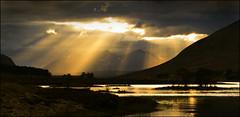 An Teallach (McRusty) Tags: an teallach loch droma sunshine rays sun jacobs ladder islands mountain reflection beautiful natural outdoor north west highland scotland
