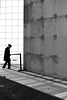 Between two walls (pascalcolin1) Tags: paris homme man murs walls parois lumière light ombre shadow photoderue streetview urbanarte noiretblanc blackandwhite photopascalcolin 5omm canon50mm canon