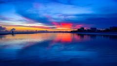 Sunset - Fort Myers Beach (Will-Jensen-2020) Tags: gulfofmexico gulf sancap sanibel cloud color sky water sand july sunset fortmyersbeach beach fortmyers florida usa
