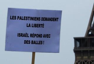 les palestiniens demandent la liberté, israel répond avec des balles