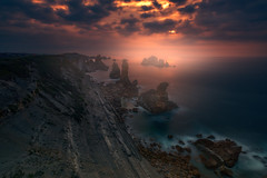 Magical urros (ALFONSO1979 ) Tags: landscape urros new explore sunset sunrise yellow red beach trees flickr pink clouds elements fantastic lights sky travel spain river flowers rocks sea scape sescape water acantilados