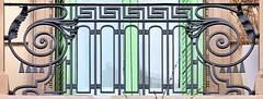 Barcelona - Roger de Llúria 077 c (Arnim Schulz) Tags: modernisme modernismo barcelona artnouveau stilefloreale jugendstil cataluña catalunya catalonia katalonien arquitectura architecture architektur spanien spain espagne españa espanya belleepoque fer castiron ferdefonte hierro ferro iron eisen gusseisen schmiedeeisen forjado forgé wrought forged art arte kunst baukunst ferronnerie gaudí fence liberty textur texture muster textura decoración dekoration deko deco ornament ornamento