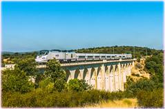 Alvia en el Viaducto del Vertillo (440_502) Tags: 730 alvia híbrido hybrid talgo madrid chamartín losacio san martín galicia directo zamora ourense a coruña grupo renfe operadora viajeros
