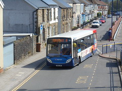 Stagecoach in South Wales 36776 (Welsh Bus 18) Tags: stagecoach southwales dennis dart slf 4 adl enviro200 36776 cn62cnu caerphilly