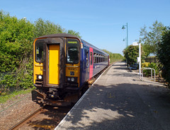 153329 Roche (Marky7890) Tags: gwr 153329 class153 supersprinter 2n08 roche railway cornwall atlanticcoastline train