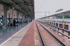 Railway Platform (Balaji Photography - 4.8M views and Growing) Tags: salem platform railways railwaystation train travel india canon