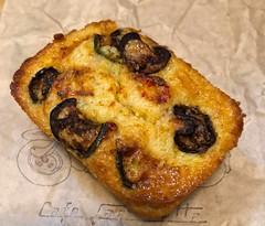 jalapeno cornbread from Cafe Lambretta (Fuzzy Traveler) Tags: jalapeno cornbread jalapenocornbread cafelambretta food southern bread corn sweet snack