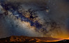 Milky Way over Magdalena, New Mexico, USA (Bob Fugate) Tags: d810 foah rhooph astro landscape magdalena milkyway newmexico