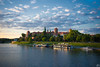132/2018 (misa_metz) Tags: nikon landscape photo photography colors clouds city cityscape river castle blue sky green ship sigma outdoor spring lights water poland kraków park boat building tree