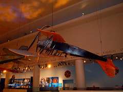 ChicSciMus_025_Jenny (AgentADQ) Tags: museum science industry chicago illinois 2018 airplane aviation plane transportation gallery curtiss jn4 jenny
