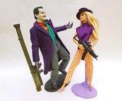 Joker and Barbie (Shannon Ocean) Tags: joker barbie hottoys