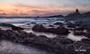 Hartland Hues (macdad1948) Tags: devon sunset hartland cliffs surf shore coast sea rocks hartlandquay