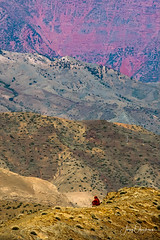 Alone in Atlas (Jerzy Orzechowski) Tags: people mountains atlasmountains ethnic landscape moments morocco rocks
