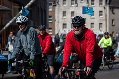 #POP2018  (140 of 230) (Philip Gillespie) Tags: pedal parliament pop pop18 pop2018 scotland edinburgh rally demonstration protest safer cycling canon 5dsr men women man woman kids children boys girls cycles bikes trikes fun feet hands heads swimming water wet urban colour red green yellow blue purple sun sky park clouds rain sunny high visibility wheels spokes police happy waving smiling road street helmets safety splash dogs people crowd group nature outdoors outside banners pool pond lake grass trees talking bike building sport