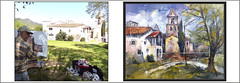 SANT GREGORI-PINTURA-GIRONA-PAISAJES-CATALUNYA-IGLESIA-MEDIEVAL-FOTOS-PINTANDO-CUADROS-PINTOR-ERNEST DESCALS (Ernest Descals) Tags: santgregori girona gironès catalunya cataluña catalonia pàint pictures catalogne peinture paisatge paisatges pobles paisaje paisajes paisajistas paisatgistes pintura pintures pinturas cuadro cuadros quadres quadre oleos oleo esglesia iglesia village church ermita ermitas ermites esglesiavella poble pueblo pueblos romànic romanico romanica romanic art arte artwork arquitectura historia pintors pintores painters painter pintar pintant pintando viatjar viajar comarca comarcas comarques catalans catalanes painting paintings ernestdescals fotos fotografias artistas artistes gótic gotico barroco plastica nature natura naturaleza plasticos