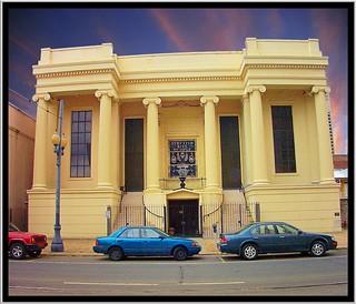 New Orleans  Louisiana - Scottish Rite Temple  - Nolaluna Theatre and Dining