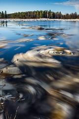Ice dancing (Janne Herva) Tags: ice joki jää kevät landscape maisema river spring vesi vesistöt water watersystem breakingupofice jäidenlähtö