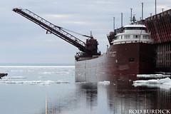 keb5618ldice_rb (rburdick27) Tags: ice lakesuperior kayeebarker marquette oredock interlakesteamshipcompany