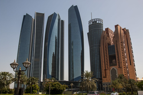 Jumeirah Hotel at Etihad Residences, Grand Hyatt and Bab Al Qasr Hotel, Abu Dhabi