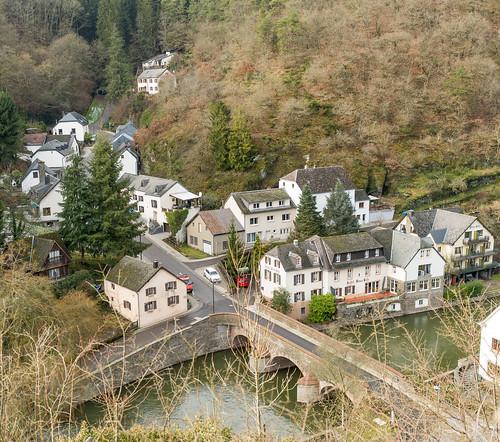 Luxembourg. Esch-sur-Sure