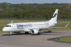 Embraer 190-100LR OH-LKN Finnair (Mark McEwan) Tags: embraer embraer190 erj190 erj190100lr ohlkn finnair nordicregionalairlines oneworld oneworldalliance aviation aircraft airplane airliner edi edinburghairport edinburgh