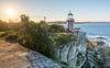 Hornby Lighthouse - South Head - Sydney (StefanKleynhans) Tags: sunset red white blue water lighthouse hornby sydney ocean cliff sun lensflare 1635f4 nikon d7100 australia mynikonlife
