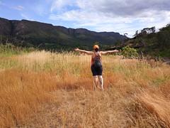 Ma opening her arms to the great beyond #colors #attitude #happiness #nature #perspective #timeoff #roadtrip (TercioRNA) Tags: perspective nature colors attitude timeoff happiness roadtrip