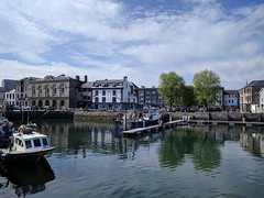 Barbican (ancientlives) Tags: devon england uk southwest westcountry may 2018 spring sunday bluesky sunshine weather travel plymouth barbican moorings harbour marina boats sailing yachts pub water