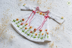 Handmade Embroidered Dresses (Ylang Garden) Tags: blythe handmade embroidery embroidered dress bohemian