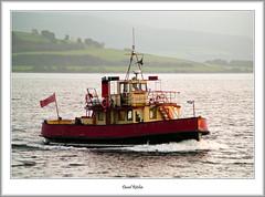 MV Kenilworth Approaching Gourock (flatfoot471) Tags: 2006 argyllbute ferries ferryterminal firthofclyde gourock kenilworth merchant normal october scotland ships unitedkingdom inverclyde gbr