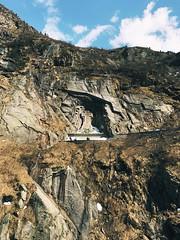 Canyon near Andermatt, famous for the battle of Suvorov with French, and the stone bridge #andermatt, #Switzerland, #rocks, #nature, #bridge, #canyon (happycoffeesoul) Tags: andermatt switzerland rocks nature bridge canyon
