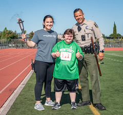 _ND55892 (Special Olympics Northern California) Tags: sanjose springgames 2018 torch thumbsup openingceremony athlete volunteer teammonterey letr police cop