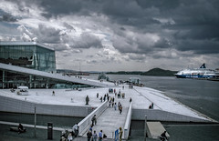 Oslo. Opera. Norway. (Al Sanin) Tags: norway oslo