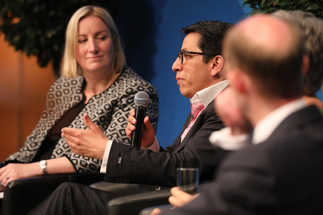 Luis Miranda-Moreno participates in the panel discussion