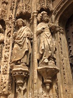 Iglesia de Santa María - Detalle de la portada