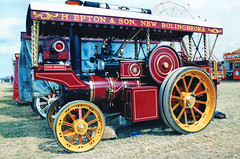 Foster Showmans Tractor John Michael (SR Photos Torksey) Tags: steam transport traction engine rally road vehicle vintage classic foster showmans john michael