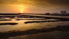 Salina Culcasi - Trapani - Sicily (I. Bellomo) Tags: salina salt trapani mare sicilia sicily italy sunset sunrise work tramonto fujifilm canon nikon