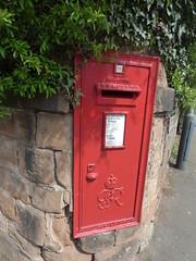 Rosemary Hill, Kenilworth - red post box - G VI R - CV8 345 (ell brown) Tags: kenilworth warwickshire england unitedkingdom greatbritain tree trees rosemaryhill postbox redpostbox gvir grvi postoffice royalmail nextcollection upperrosemaryhill cv8345