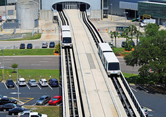 Tampa Airport SkyConnect People Mover System (Infinity & Beyond Photography) Tags: tampa international airport skyconnect people mover system rail