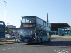 Arriva Yorkshire 1511 YJ61 OAD on 126, Wakefield Bus Stn (sambuses) Tags: arrivayorkshire 1511 yj61oad max126127