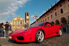 Italian beauties (emanuelezogno) Tags: italy ferrari vigevano place piazzaducale puazzaitalia italia rossa
