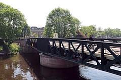 Old iron bridge in 's Hertogenbosch (marionvankempen) Tags: bridge city throughherlens