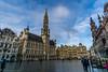 Grand Place Morning (RutasTrazadas) Tags: belgica belgique belgium bruselas brussels bruxelles europe travel winter